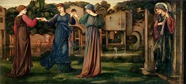 The Mill | Burne-Jones | Painting Reproduction
