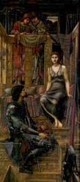 King Cophetua and the Beggar Maid, 1884 von Burne-Jones | Gemälde-Reproduktion