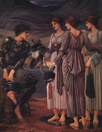 The Arming of Perseus | Burne-Jones | Painting Reproduction