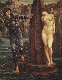 The Rock of Doom | Burne-Jones | Painting Reproduction
