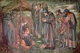 The Star of Bethlehem | Burne-Jones | Gemälde Reproduktion