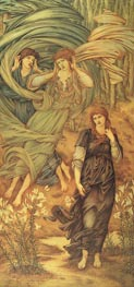 Sponsa de Libano, 1891 by Burne-Jones | Painting Reproduction