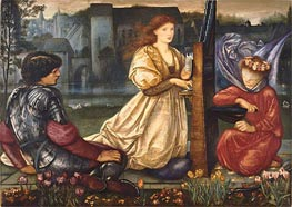 The Love Song (Le Chant d'Amour) | Burne-Jones | Painting Reproduction