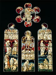 The Last Judgement | Burne-Jones | Gemälde Reproduktion