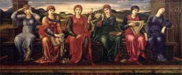 The Hours, c.1870/82 by Burne-Jones | Painting Reproduction