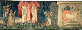 Holy Grail Tapestry, c.1895/96 by Burne-Jones | Painting Reproduction