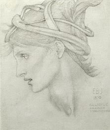 Nimue, 1870 by Burne-Jones | Painting Reproduction