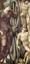 The Wheel of Fortune, c.1871/85 by Burne-Jones | Painting Reproduction