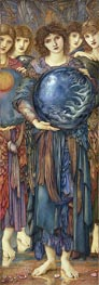 The Days of Creation: The Fifth Day, c.1870/76 by Burne-Jones | Painting Reproduction