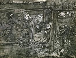 The Wise and Foolish Virgins | Burne-Jones | Painting Reproduction