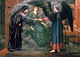 Heart of the Rose | Burne-Jones | Painting Reproduction