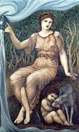 Earth Mother | Burne-Jones | Painting Reproduction