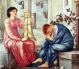 The Lament | Burne-Jones | Painting Reproduction