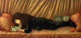 Portrait of Katie Lewis, 1886 by Burne-Jones | Painting Reproduction