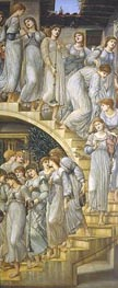 The Golden Stairs, 1880 by Burne-Jones | Painting Reproduction
