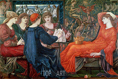 Laus Veneris, 1868 | Burne-Jones | Gemälde Reproduktion