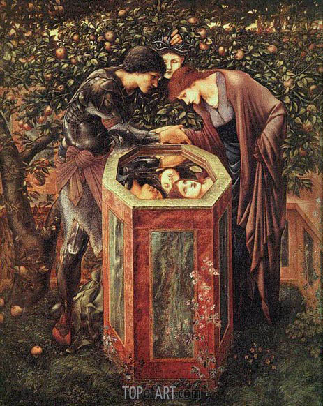 The Baleful Head, c.1886/87 | Burne-Jones | Gemälde Reproduktion