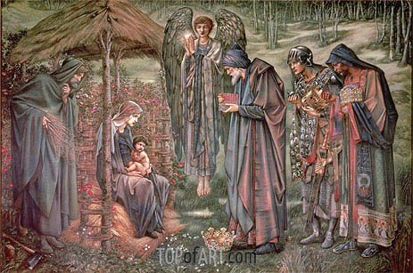 The Star of Bethlehem, c.1888/91 | Burne-Jones | Gemälde Reproduktion