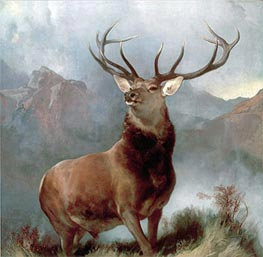 Monarch of the Glen, 1851 by Landseer | Painting Reproduction