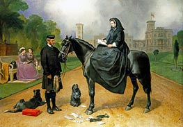 Queen Victoria at Osborne | Landseer | Painting Reproduction