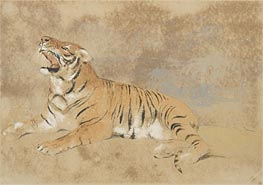 Tiger | Landseer | Painting Reproduction