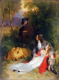 The Bride of Lammermoor, a.1830 by Landseer | Painting Reproduction