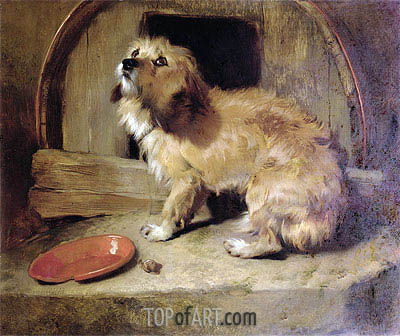 There's No Place Like Home, undated | Landseer | Painting Reproduction