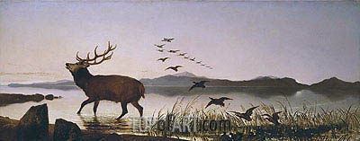The Sanctuary, 1842 | Landseer | Painting Reproduction