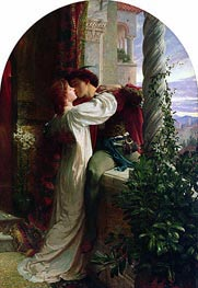 Romeo and Juliet, 1884 by Frank Dicksee | Painting Reproduction