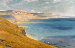 Sea and Sunshine, Lyme Regis | Frank Dicksee | Painting Reproduction