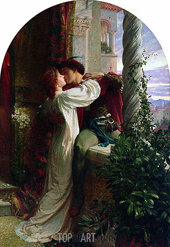 Romeo and Juliet, 1884 | Frank Dicksee | Painting Reproduction