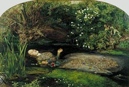 Ophelia | Millais | Painting Reproduction