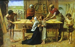 Christ in the House of His Parents | Millais | Painting Reproduction
