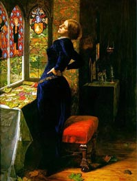 Mariana in the Moated Grange | Millais | Painting Reproduction