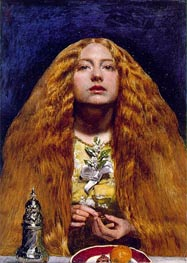 The Bridesmaid | Millais | Painting Reproduction
