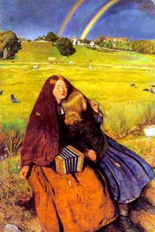 The Blind Girl, c.1854/56 von Millais | Gemälde-Reproduktion