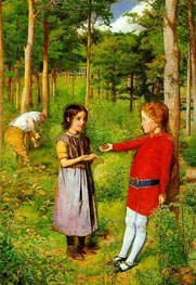 The Woodsman's Daughter | Millais | Painting Reproduction