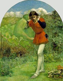 Ferdinand Lured by Ariel, c.1849/50 von Millais | Gemälde-Reproduktion