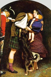 The Order of Release 1746, c.1852/53 von Millais | Gemälde-Reproduktion