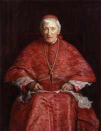 Portrait of John Henry Newman | Millais | Painting Reproduction