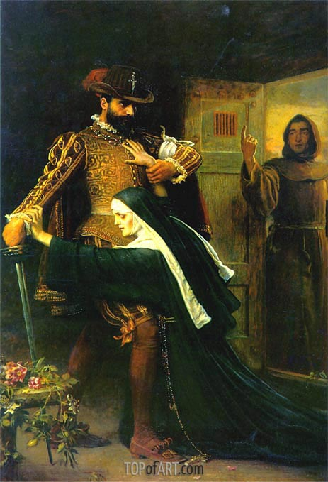 Mercy: St Bartholomew's Day, 1572, 1886 | Millais | Painting Reproduction