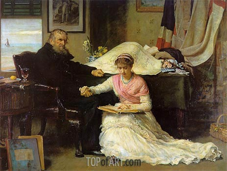 The North-West Passage, 1874 | Millais | Painting Reproduction