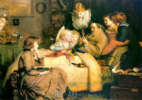 Ruling Passion, undated | Millais | Painting Reproduction