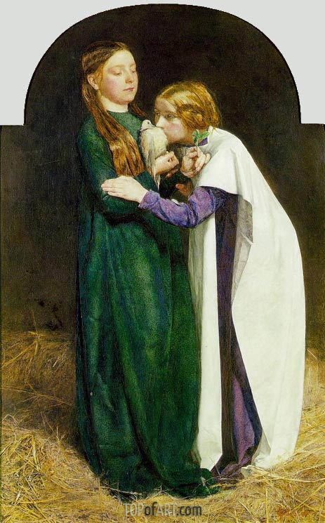 The Return of the Dove to the Ark, 1851 | Millais | Gemälde Reproduktion