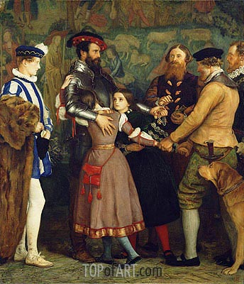 The Ransom, c.1860/62 | Millais | Painting Reproduction