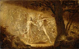 The Quarrel of Oberon and Titania, c.1849 von Joseph Noel Paton | Gemälde-Reproduktion