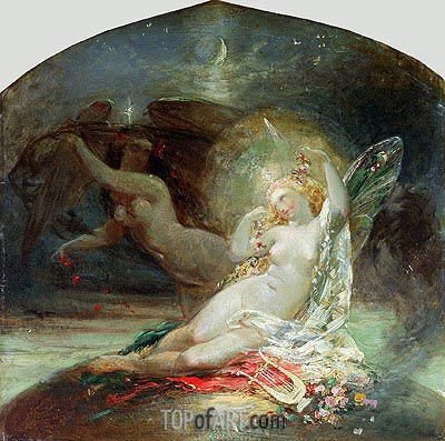 The Fairy Queen, undated | Joseph Noel Paton | Painting Reproduction