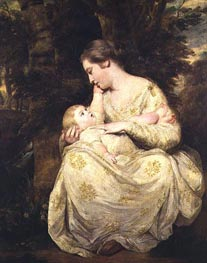 Mrs Susanna Hoare and Child, c.1763/64 von Reynolds | Gemälde-Reproduktion