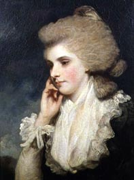 Frances Countess of Lincoln | Reynolds | Painting Reproduction