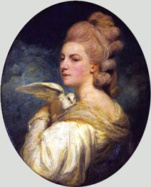 Mrs Mary Nesbitt, 1781 von Reynolds | Gemälde-Reproduktion